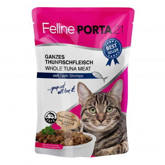 Feline Porta21 Thunfisch / Shrimps