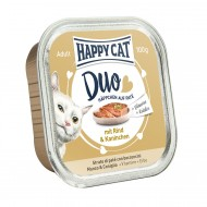 Happy Cat Duo Rind & Kaninchen