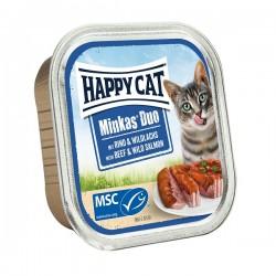 Happy Cat Minkas Duo Rind & Wildlachs