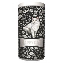 Happy Cat food container (black)