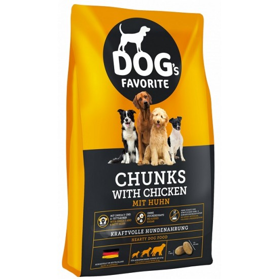 DOG's Favorite Chunks with Chicken