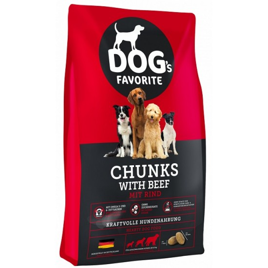 DOG's Favorite Chunks with Beef