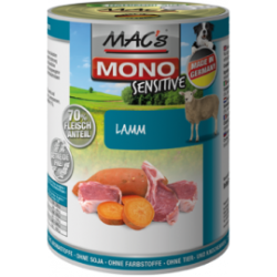 MAC's Dog MONO Sensitive with lamb