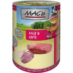 MAC's Dog with beef and duck meat