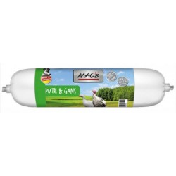 MAC's Dog sausage for dogs from turkey and goose meat