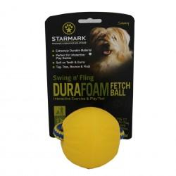 Dog Toy - Starmark Swing 'n Fling Durafoam Fetch Ball