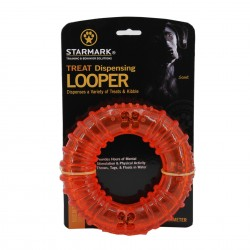 A toy for dogs - Starmark Treat Dispensing Looper