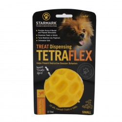 Dog Toy - Starmark Treat Dispensing Tetraflex