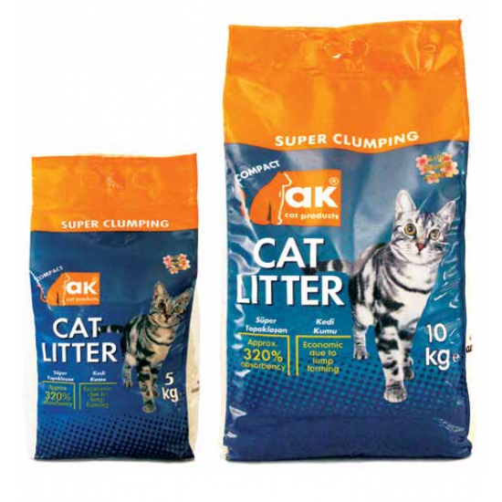 """Sand for cat toilet """"AK Cat Baby Powder"""""""