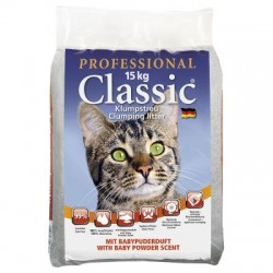 """Sand for cat toilet """"Professional Classic Babypuderduft"""""""